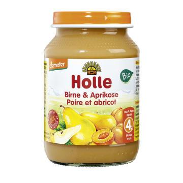 HOLLE Deserek gruszka z morelą - po 4 miesiącu BIO 190g