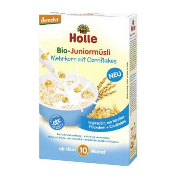 HOLLE Kaszka wieloziarnista z Cornflakes - po 10. miesiącu BIO 250g