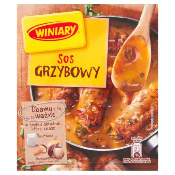 Sos grzybowy – Winiary to szybki sposób na domowy sos do potraw.