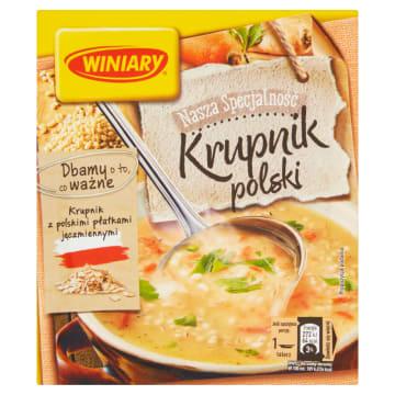 WINIARY Nasza specjalność Zupa krupnik Polski 59g