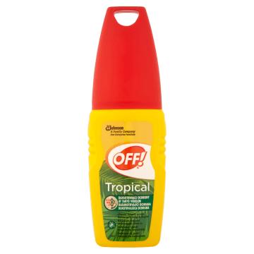 OFF Tropical Repelent przeciw komarom i kleszczom 100ml