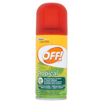 OFF Tropical Repelent w suchym aerozolu 100 ml