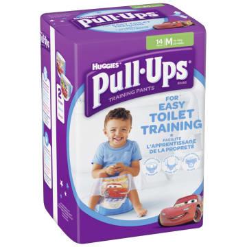 HUGGIES Pull-Ups M Majteczki treningowe dla chłopców 10-18 kg  14 szt. 1szt