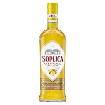 SOPLICA Nalewka cytrynowa z nutą miodu 500ml