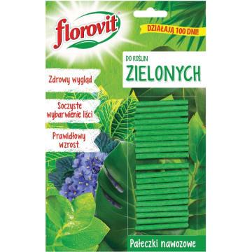 FLOROVIT Pałeczki nawozowe do roślin zielonych 20g