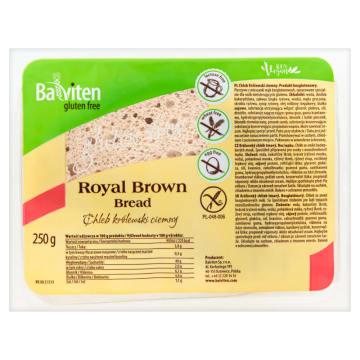 Ciemny chleb bezglutenowy - Baleviten Supreme. Cenne składniki zawarte w pysznym pieczywie.
