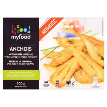 MY FOOD Anchois panierowane mrożone 300g