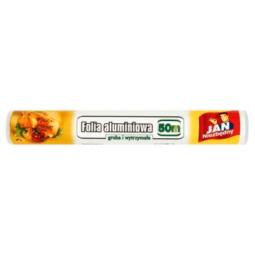 JAN NIEZBĘDNY Folia aluminiowa 50 m 1szt