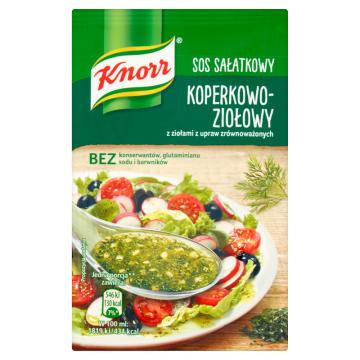 Sos sałatkowy koperkowo - ziołowy 10g - Knorr