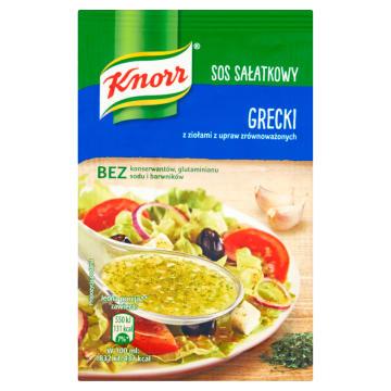 Knorr - Sos sałatkowy grecki. Przysmak miłośników kuchni greckiej.