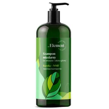 VIS PLANTIS Basil Element Szampon wzmacniający przeciw wypadaniu włosów 500ml
