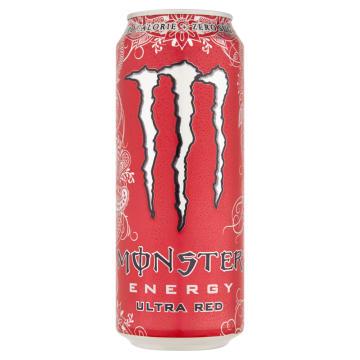 MONSTER Energy Ultra Red Napój energetyczny gazowany 500ml