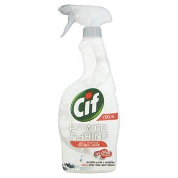 CIF Power & Shine Płyn do czyszczenia Wybielający - spray 750ml