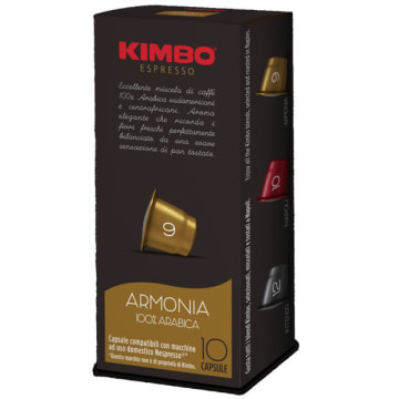 KIMBO ARMONIA Kawa w kapsułkach 100% arabica 9 szt. 58g