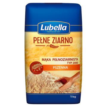 Mąka pszenna pełnoziarnista - do ciast i chlebów - Lubella