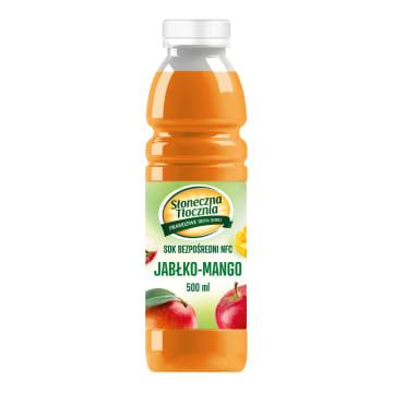 SŁONECZNA TŁOCZNIA Sok z jabłka i mango 500ml