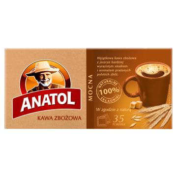 Mocna kawa zbożowa Anatol – Delecta w torebkach do zaparzania to mocny aromat i ciekawy smak.