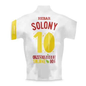 HEBAR Solony 10 Orzeszki ziemne solone 90g