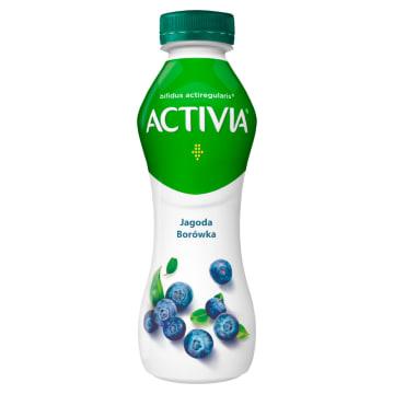 Jogurt Danone Activia pomaga regulować procesy prawidłowego trawienia.