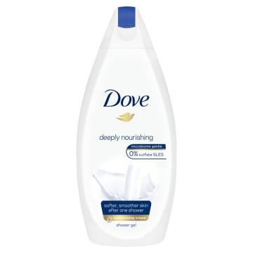 Żel pod prysznic-Dove Deeply Nourishing. Doskonale odżywia i nawilża skórę.