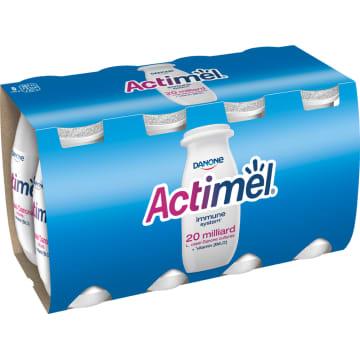 Napój mleczny Actimel - Danone. Napój z bakteriami L. Casei Danone zamknięty w buteleczkach.