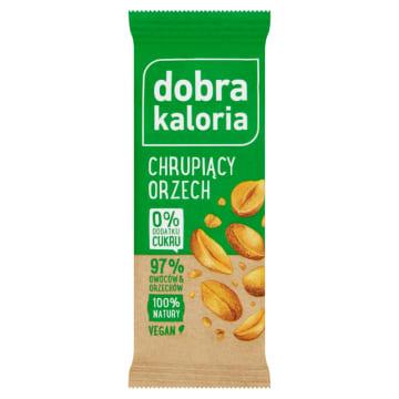 DOBRA KALORIA Baton owocowy chrupiący orzech 35g