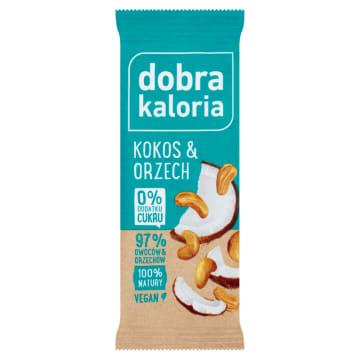 DOBRA KALORIA Baton owocowy kokos&orzech 35g