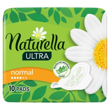 Naturella Ultra - Podpaski higieniczne 10 szt. Gwarancja suchości i komfortu.