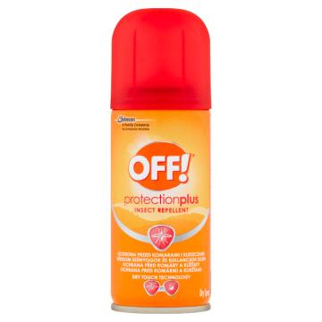 OFF Protection Plus Repelent w areozolu przeciw komarom i kleszom 100g