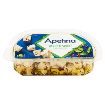 ARLA Apetina Ser biały typu śródziemnomorskiego w zalewie olejowej z ziołami 100g
