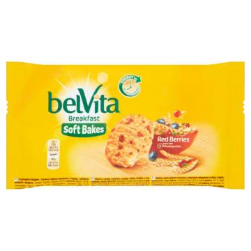 BELVITA Breakfast Ciastka zbożowe z żurawiną 50g