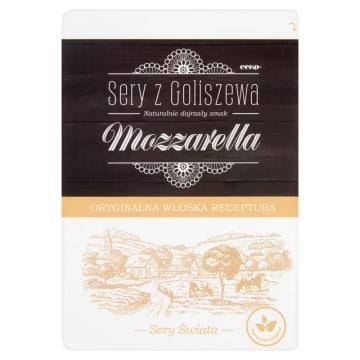 Ser Mozzarella w plastrach - Cek. Oryginalna receptura i delikatny smak.