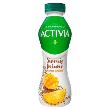 DANONE Activia Siemię lniane Mango-ananas Jogurt 280g