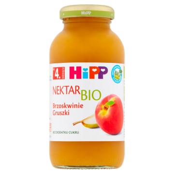 HIPP-Nektar Brzoskwinia BIO 200ml. Zdrowy sok o narutalnym smaku, idealny dla dzieci