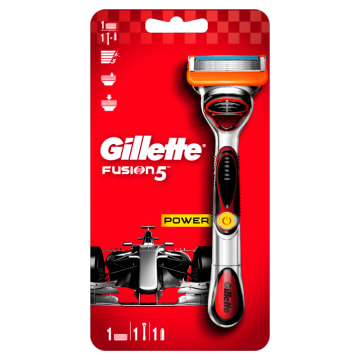 GILLETTE Fusion Power Maszynka do golenia + 1 wkład 1szt