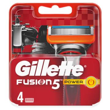 Wkłady - Gillette Fusion Power. Dokładne golenie, nie podrażniające skóry.