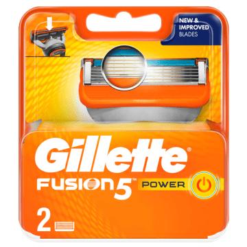 Gillete Fusion Power-nożyki do golenia. Posiadają specjalnie opatentowaną powłokę.