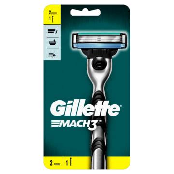 GILLETTE Mach3 Maszynka do golenia + 2 wkłady 1szt