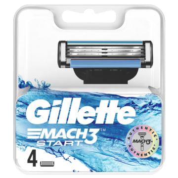 GILLETTE Mach3 Start Ostrza do maszynki do golenia 4 sztuki 1szt
