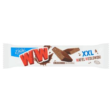 Wafelek o smaku orzechowym 50 g - Wedel ChocoWafel - słodka przerwa