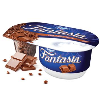 Jogurt kremowy z czekoladą mleczną - Danone Fantasia