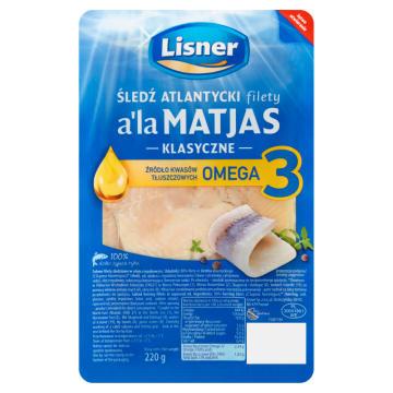 Filety śledziowe w oleju a la Matjas - Lisner