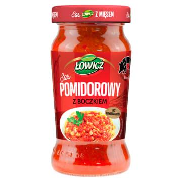 ŁOWICZ Sos pomidorowy z boczkiem 350g