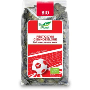 BIO PLANET Mundial Pestki dyni ciemnozielone BIO 350g