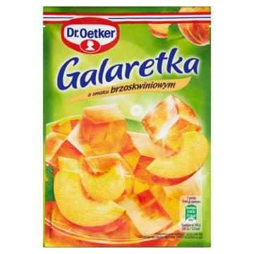 Galaretka brzoskwiniowa Dr. Oetker doskonała do ciast i deserów.