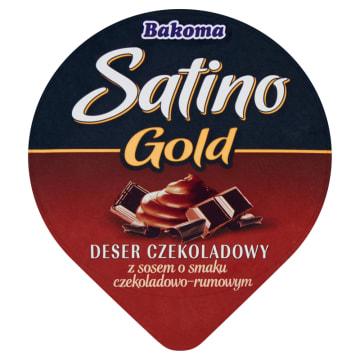 Bakoma - Deser czekoladowy z sosem czekoladowo-rumowym. Ma doskonały, kremowy smak.
