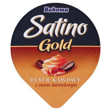 Deser kawowy - Bakoma Satino Gold. Smak, który każdemu przypadnie do gustu.