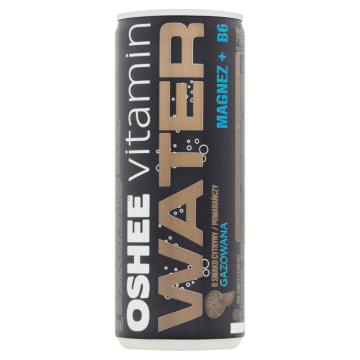 OSHEE Vitamin Water Magnez +B6 Napój gazowany o smaku cytryny-pomarańczy 240ml
