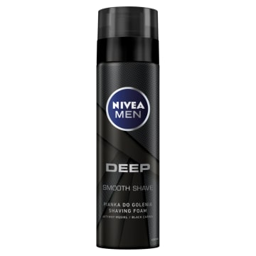NIVEA MEN Deep Pianka do golenia 200 ml
