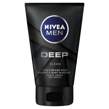 NIVEA MEN Deep Żel do mycia twarzy i zarostu 100ml